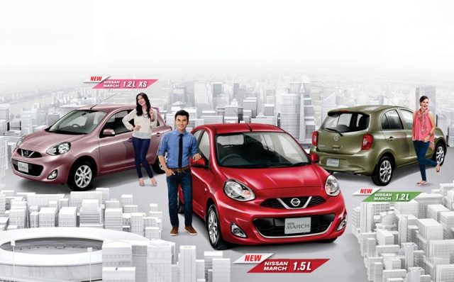 harga kredit nissan march