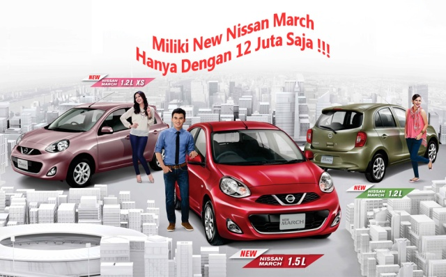 harga nissan march copy